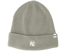 New York Yankees Centerfield Gray Beanie - 47 Brand