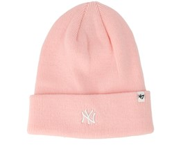 New York Yankees Centerfield Pink Beanie - 47 Brand