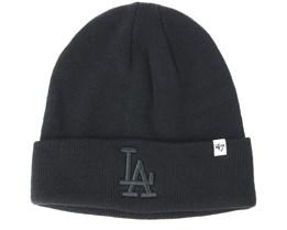 Los Angeles Dodgers Raised Black Cuff - 47 Brand