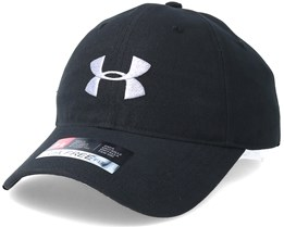 Men´s Coure Canvas Dad cap Black Adjustable - Under Armour