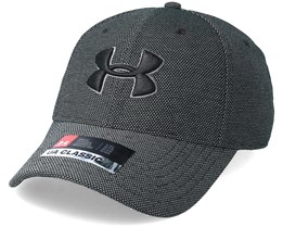 Men´s Heathered Black Blitzing 3.0 Flexfit - Under Armour