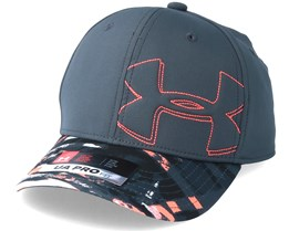 Kids Boy´s Billboard Cap 2.0 Charcoal Flexfit - Under Armour