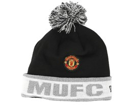 Manchester United Reflective Knit Black Cuff - New Era