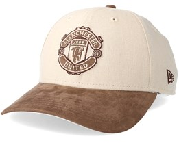Manchester United Linen Suede 940 Adjustable - New Era
