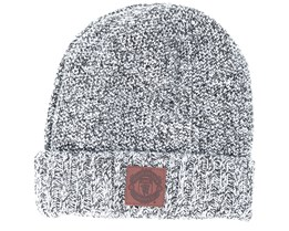 Manchester United Crest Patch Knit Grey Cuff - New Era