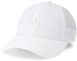 Los Angeles Dodgers Women Sportmesh 940 White Adjustable - New Era