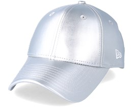 Womens Metallic Pu 940 Silver Adjustable - New Era