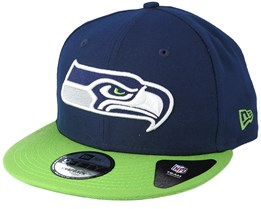 Seattle Seahawks Team Navy Snapback - New Era