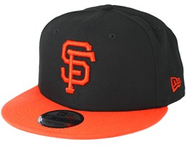 San Francisco Giants Team Black Snapback - New Era