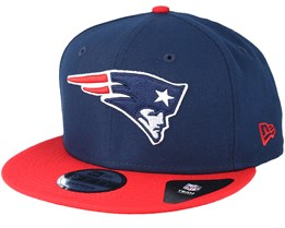 New England Patriots Team Navy Snapback - New Era
