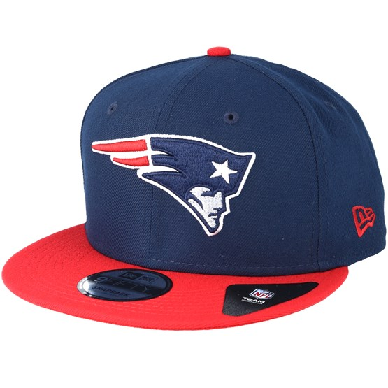 new england patriots team navy snapback new era cap. Black Bedroom Furniture Sets. Home Design Ideas