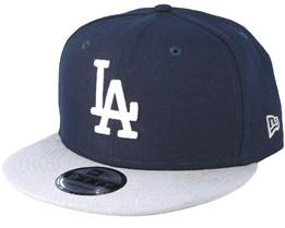 Los Angeles Dodgers Team 2 Navy Snapback - New Era