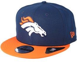 Denver Broncos Team Navy Snapback - New Era