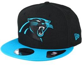 Carolina Panthers Team Black Snapback - New Era