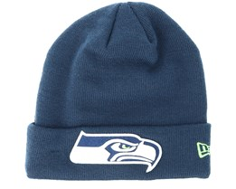 Seattle Seahawks Team Essential Navy Cuff - New Era