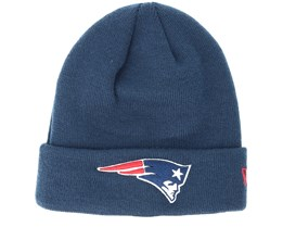 New England Patriots Team Essential Navy Cuff - New Era