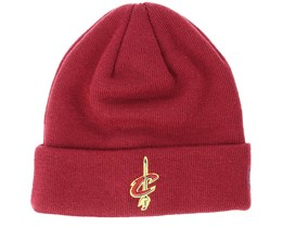 Cleveland Cavaliers Team Essential Maroon Cuff - New Era