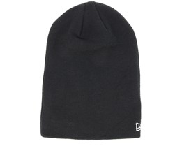 Seasonal Long Knit Black Beanie - New Era