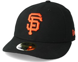 San Francisco Giants Poly Low Profile 59Fifty Black Fitted - New Era