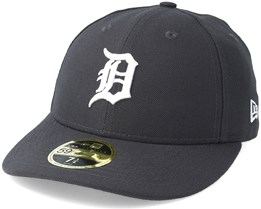 Detroit Tigers Poly Low Profile 59Fifty Heather Grey Fitted - New Era