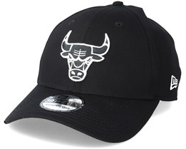 Chicago Bulls Monochrome 3930 Black Flexfit - New Era