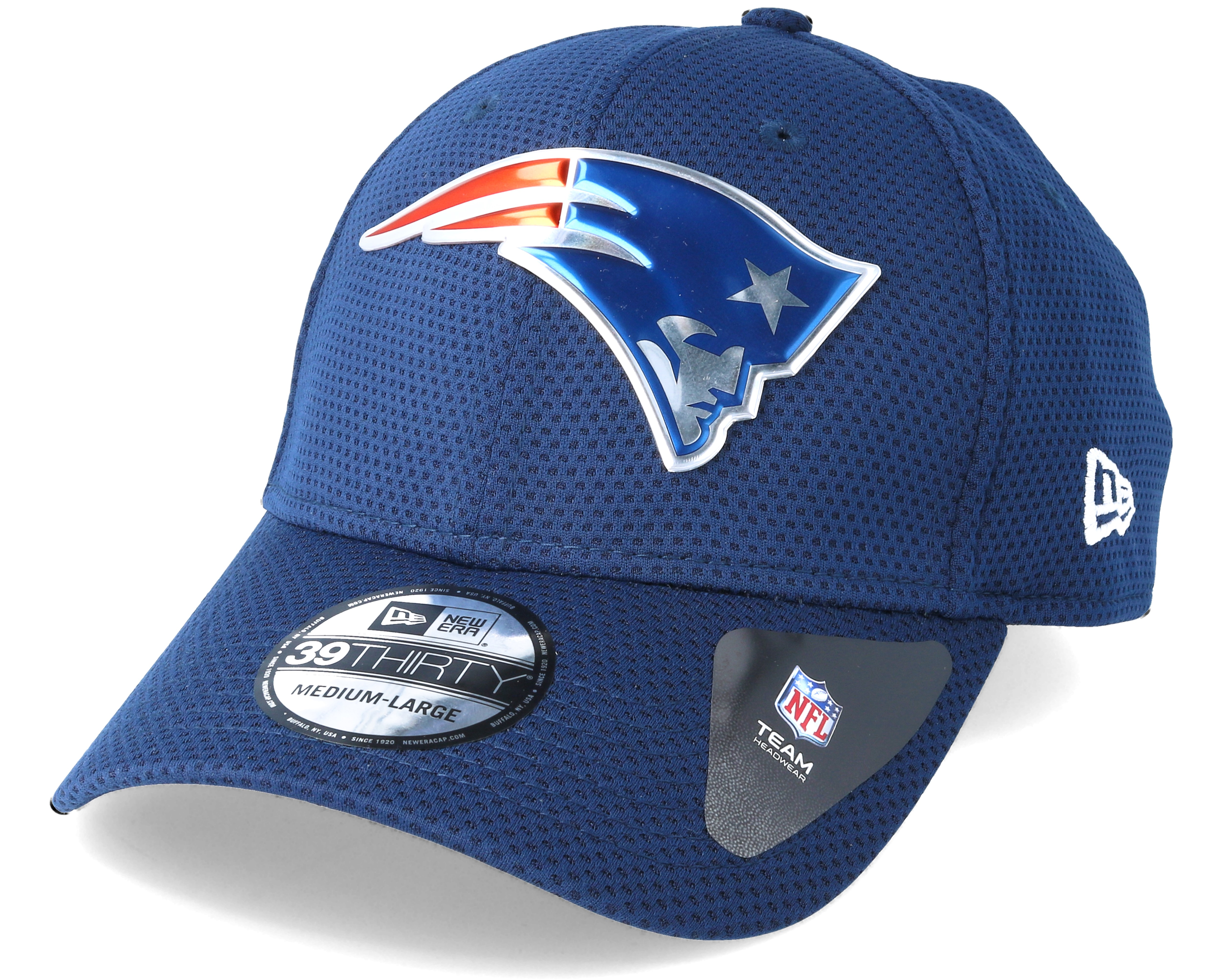 new england patriots logo pack 39thirty blue flexfit new era casquette. Black Bedroom Furniture Sets. Home Design Ideas