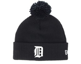Detroit Tigers Lightweight Felt Bobble Black Pom - New Era