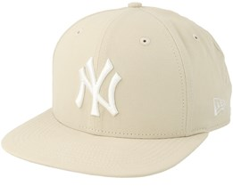 New York Yankees Lightweight Ess 9Fifty Stone White Snapback - New Era