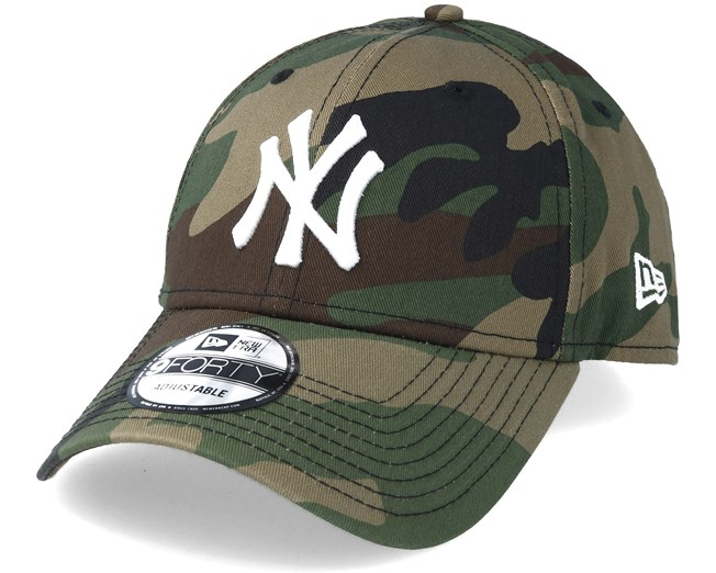6c465a8fedfa New York Yankees League Essential 940 Camo Adjustable - New Era - casquette    Hatstore.fr