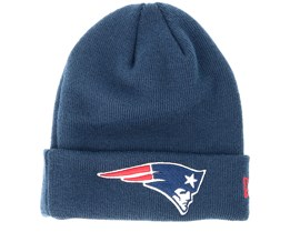 Kids New England Patriots Junior Essential Navy Cuff - New Era