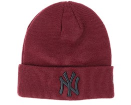 New York Yankees Junior Seasonal Maroon Cuff - New Era