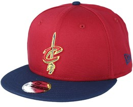 Kids Cleveland Cavaliers Jr Red/Navy Snapback - New Era