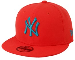 New York Yankees Jr League Essential 940 Red Snapback - New Era