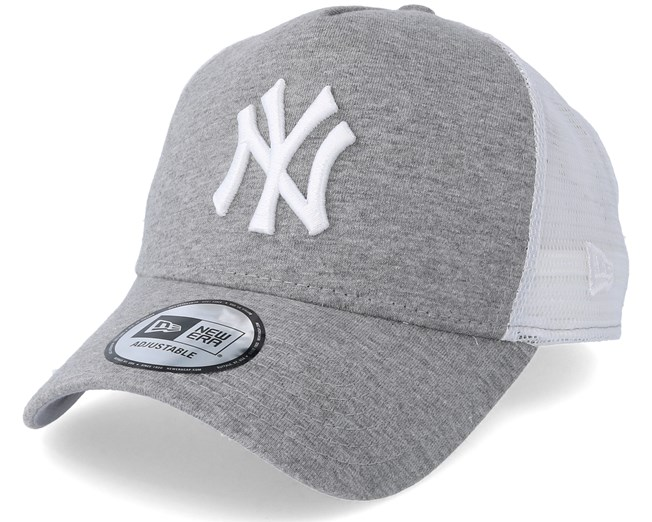 New York Yankees Jersey Essential Trucker Dark Grey Adjustable - New Era  keps - Hatstore.se e88b3d436b934