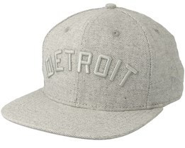 Detroit Tigers Basket 950 Grey Snapback - New Era