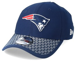 New England Patriots Sideline 39Thirty Navy Flexfit - New Era