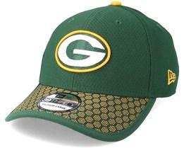Green Bay Packers Sideline 39Thirty Green Flexfit - New Era