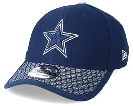 Dallas Cowboys Sideline 39Thirty Navy Flexfit - New  Era
