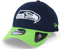 Seattle Seahawks Team Mesh 9Forty Navy Adjustable - New Era