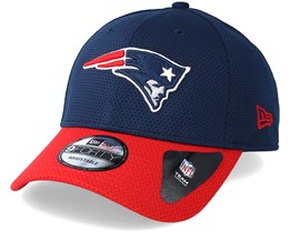 New England Patriots Team Mesh 9Forty Navy Adjustable - New Era