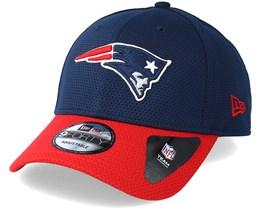 New England Patriots Team Mesh 9Forty Navy Adjustable - New Era