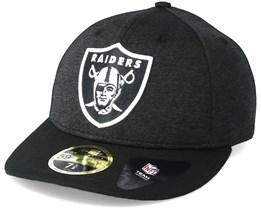 Oakland Raiders Shadow Tech Low Profile 59Fifty Heather Grey Fitted - New Era