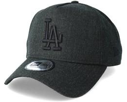 Los Angeles Dodgers Leuge Essential Aframe Black Adjustable - New Era