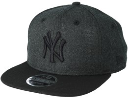 New York Yankees Season Heather 9Fifty Black Snapback - New Era