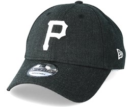 Pittsburgh Pirates Season Heather 9Forty Black Adjustable - New Era