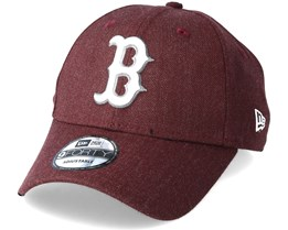Boston Red Sox Season Heather 9Forty Burgundy Adjustable - New Era