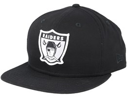Oakland Raiders Patch 9Fifty Black Snapback - New Era