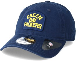 Green Bay Packers Patch 9Forty Navy Adjustable - New Era