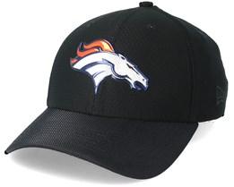 Denver Broncos Black Coll 39Thirty Black Flexfit - New Era
