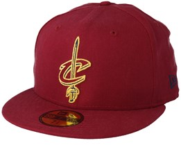 Cleveland Cavaliers Chainstitch 59Fifty Scarlet Fitted - New Era